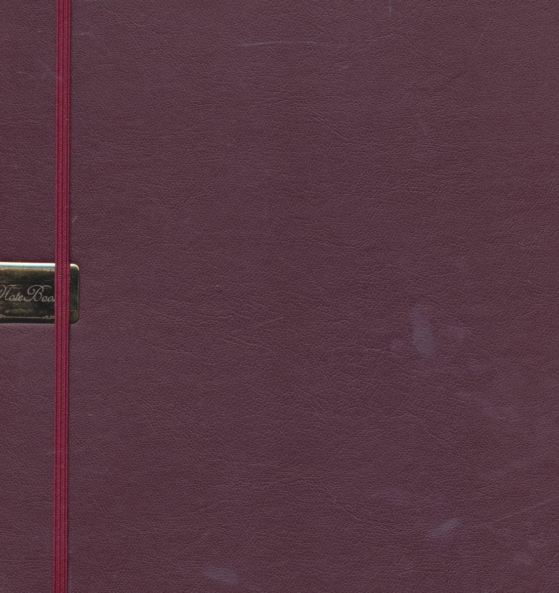 دفتر يادداشت خط دار (6رنگ)،(كشدار،چرم)