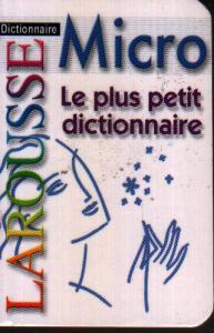LAROUSSE Micro le plus petit dictionnaire