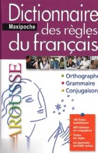 Larousse Maxipoche Des Regles Du Francais Dictionnaire