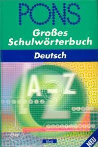 PONS GroBes Schulworterbuch Deutsch
