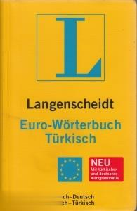 Langensceidt Euro-Worterbuch Turkisch