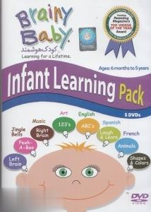 (Infant Learning Pack (Brainy Baby) (5 DVD