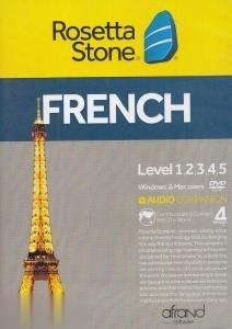 آموزش زبان فرانسه Rosetta Stone French Level 1-2-3-4-5 V4 Mac