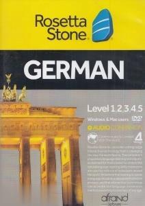 آموزش زبان آلماني Rosetta Stone German Level 1-2-3-4-5 V4 Mac