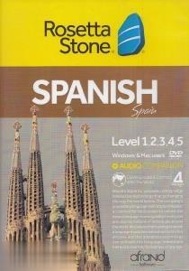 آموزش زبان اسپانيايي Rosetta Stone Spanish Level 1-2-3-4-5 V4 Mac