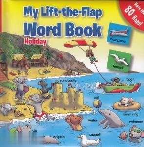 My Little the Flap Word Book Holiday