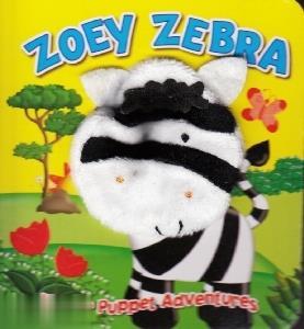 Zoey Zebra Finger Puppet Adventures
