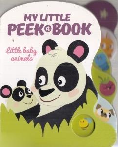 little Baby Animal My Little Peek a Book 5513