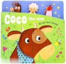 Coco The Cow My Felt Farm Friends