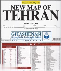 نقشه تهران انگليسي 400