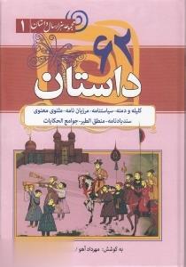 مجموعه هزار سال داستان 1 (62 داستان:كليله و دمنه،سياستنامه،مرزبان نامه...)