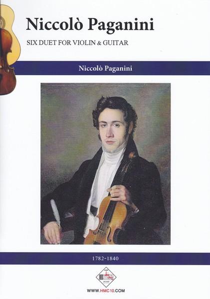 پاگانینی: شش دوئت برای ویولن و گیتار