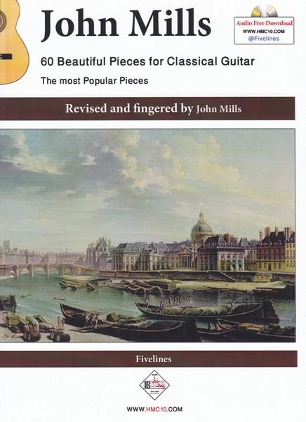 60 قطعه زیبا برای گیتار کلاسیک ( مشهورترین قطعات گیتار کلاسیک )
